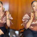 Actress, Tonto Dikeh moves into her new mansion in Abuja (Video)