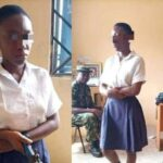 Secondary school student caught with gun she planned to use in shooting a teacher [SEE PICS]